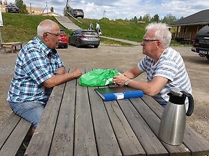 Mötesplatser För äldre I Sidensjö